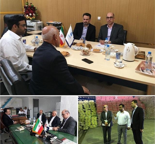 در راستای حمایت از تولیدکنندگان داخلی صورت گرفت: بازدید معاون منطقه ای بانک ایران زمین، از شرکت ها و بنگاههای منطقه آزاد چابهار